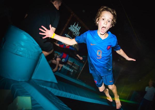 Test je tricks op de trampoline. Foto: Fun Center Amstelveen.