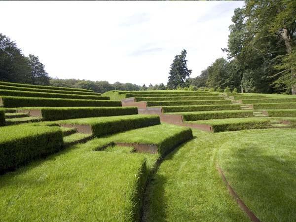 Uitgestrekte tuinen. Foto: Tuin de Lage Oorsprong