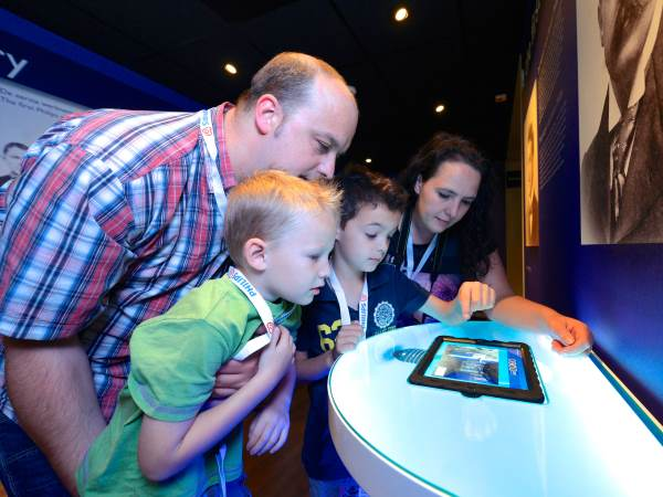 Mission Eureka is een leuk familiespel. Foto: Philips Museum