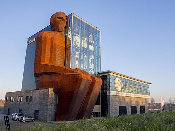 Het gebouw van CORPUS.