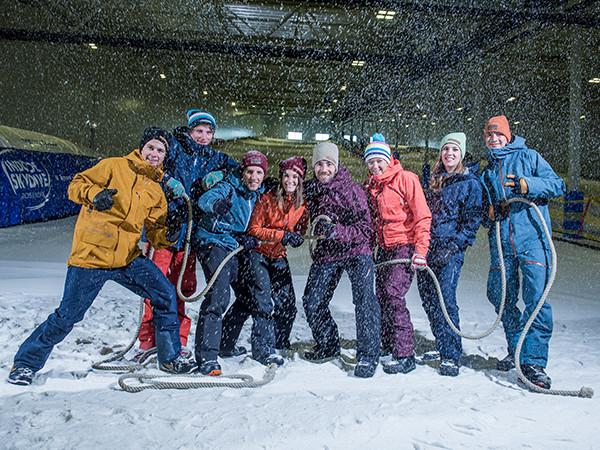 Leuk groepsuitje! Foto: Skidôme Terneuzen.
