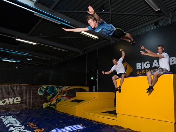 Vergeet zwaartekracht, jump!
