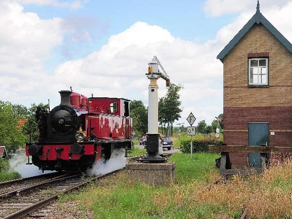 Kom langs pittoreske stationnetjes. Foto: Stoomtrein Goes-Borsele