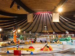 Exotisch kinderbad. Foto: De Bonte Wever.