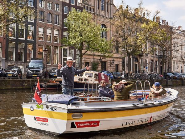 Verken Amsterdam vanaf het water! Foto: Stromma Netherlands