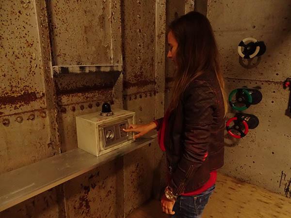 Zoek naar sporen in de escaperooms.