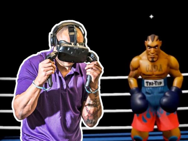 Neem het op tegen boksers in de virtuele ring. Foto: VR4play © Toast VR