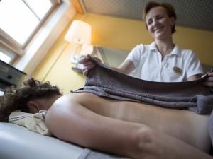Geniet van een professionele massage.