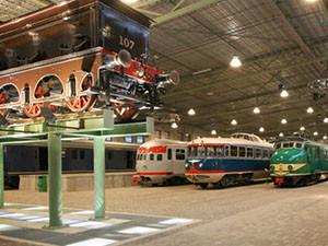 Bekijk historische locomotieven. Foto: Spoorwegmuseum.