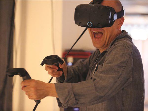 Virtual reality is hartstikke cool! Foto: Enversed