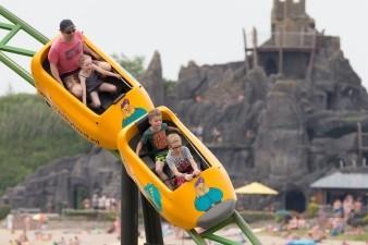 De spannende achtbaan.