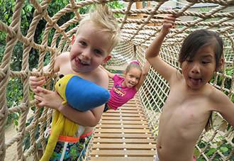 De indoor Kids Jungle