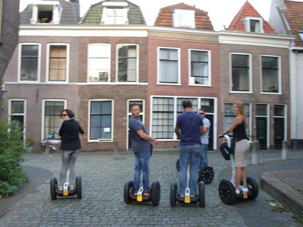 Ga je mee? Foto: Segway Leiden.
