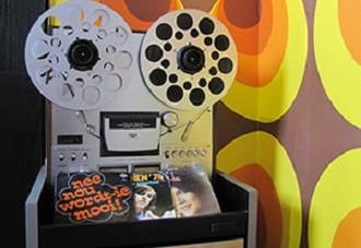 Stereotoren uit de jaren '70. Foto: Museum van de 20e Eeuw.