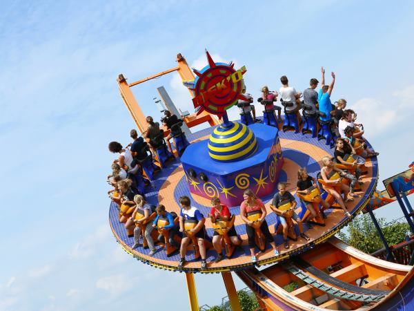 Er zijn meer dan 40 attracties! Foto: Wunderland Kalkar