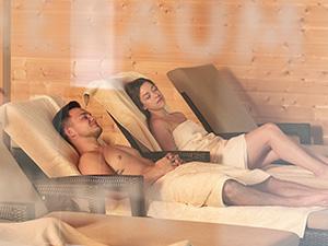 Geniet van de weldadige warmte in Sauna Embricana