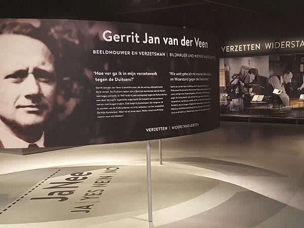 Sta stil bij de Tweede Wereldoorlog. Foto: Oorlogsmuseum Overloon.
