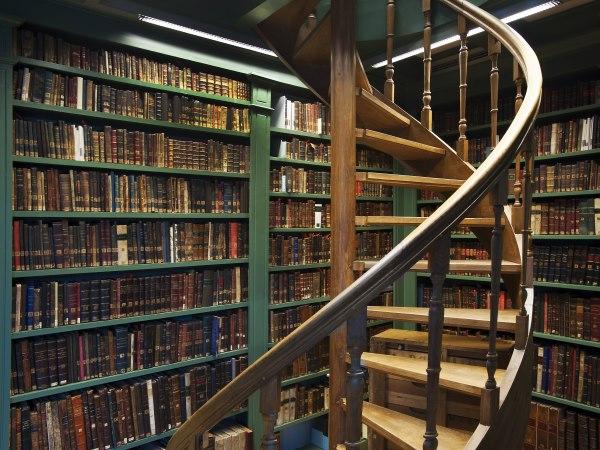 Bibliotheek Ets Haim Livraria Montezinos. Foto: Peter Lange. Collectie Joods Historisch Museum, Amst