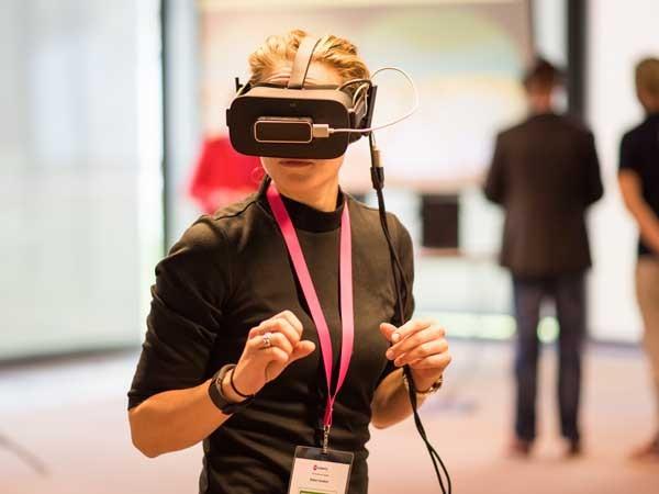 Beleef een virtual reality experience.