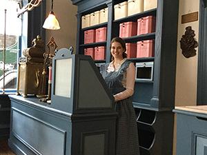 Nostalgische museumwinkel. Foto: Nederlands Bakkerijmuseum.